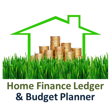 Home Finance Ledger and Budget Planner