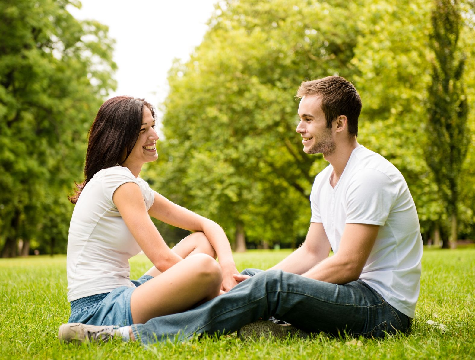Young Couple Talking - Couples Counselling